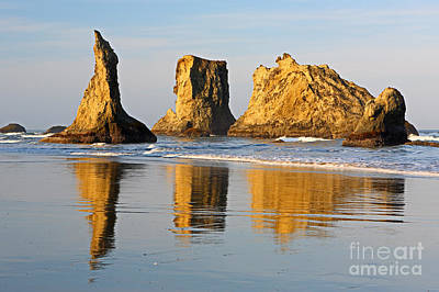 Photograph - Bandon Beach Dawn by Bill Singleton