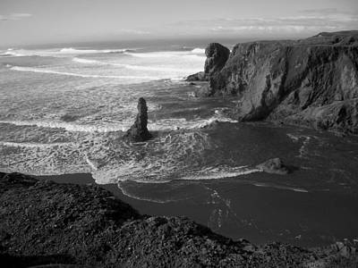 Photograph - Bandon Beach Incoming Tide by Michele Avanti