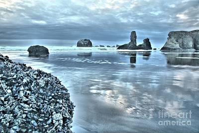 Photograph - Bandon Beach Scatter by Adam Jewell