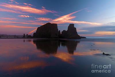 Photograph - Bandon Beach Skies by Adam Jewell