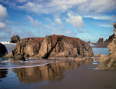 Photograph - Bandon Beautiful Beach Oregon by Michele Avanti