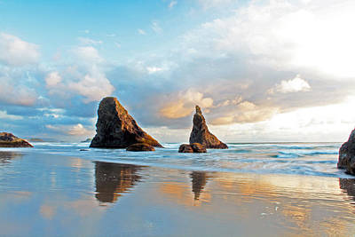 Photograph - Bandon Blues by Pamela Winders