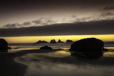 Bandon By The Sea Art Print by Jean-Jacques Thebault