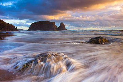 Photograph - Bandon Sunset by Darren  White