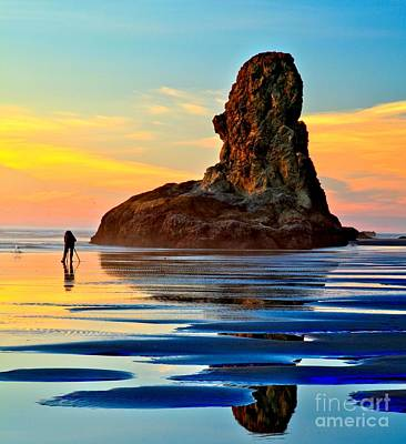 Photograph - Bandon Sunset Photographer by Adam Jewell