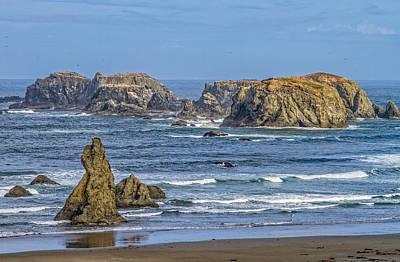 Bandon Beach Landscape Art Print