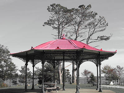 Photograph - Bandstand by Ethna Gillespie
