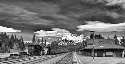 Photograph - Banff Depot by Guy Whiteley