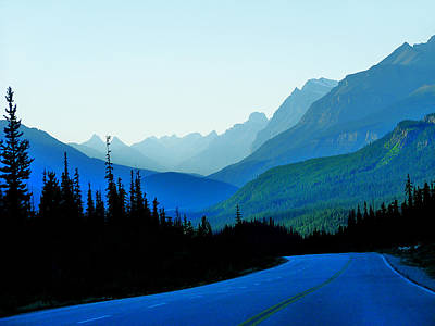 Art Print featuring the photograph Banff Jasper Blue by Blair Wainman