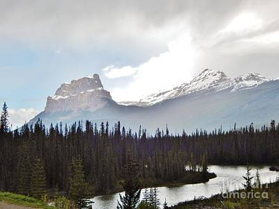 Photograph - Banff National Park by Reb Frost