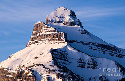 Photograph - Banff - Pilot Mountain by Terry Elniski