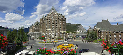 Photograph - Banff Springs Hotel by Georgia Hamlin
