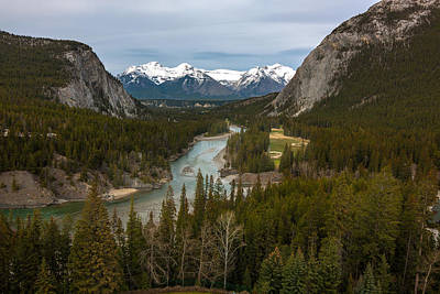 Banff Springs In Spring Art Print