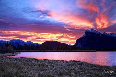 Banff Sunrise Six Minutes Later Original