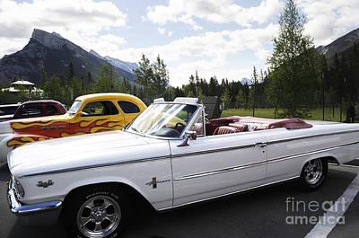 Photograph - Banff Vintage Car Rally by Brenda Kean