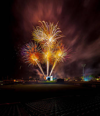 Brighthouse Field Photograph - Big Bang by Jeff Donald