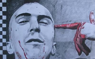 Robert Deniro Wall Art - Drawing - Bang by Jeremy Moore
