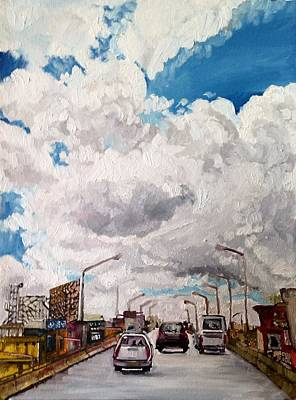 Painting - Bangalore Sky by Aditi Bhatt
