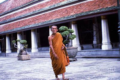 Photograph - Bangkok Monk by Scott Shaw