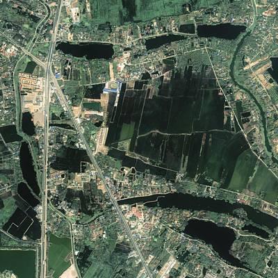 Ikonos Satellite Photograph - Bangkok, Thailand, Satellite Image by Science Photo Library