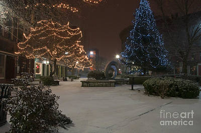 Photograph - Bangor Maine Christmas by Glenn Gordon