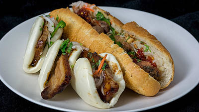Photograph - Banh Mi And Bao by Nisah Cheatham