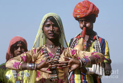 Photograph - Banjari Dancer At Pushkar Camel Fair - Rajasthan by Craig Lovell