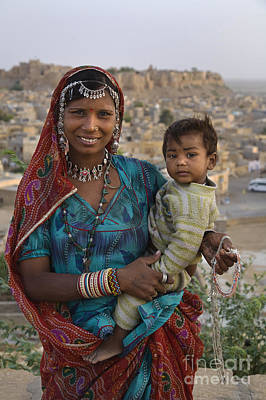 Photograph - Banjari Tribal Woman - Jaisalmer India by Craig Lovell