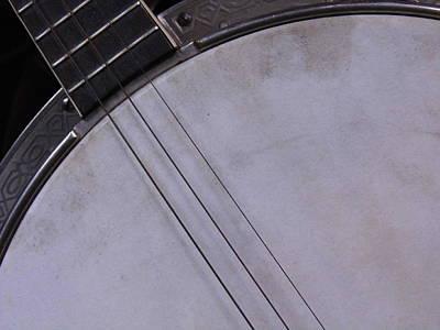 Banjo Abstract Art Print by Kay Sparks