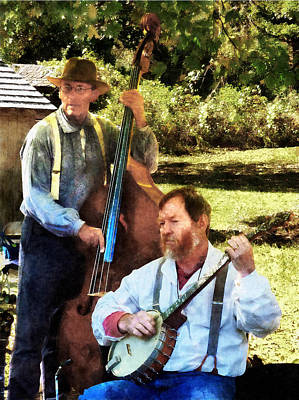 Photograph - Banjo And Bass by Susan Savad