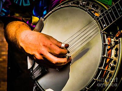 Photograph - Banjo by George DeLisle