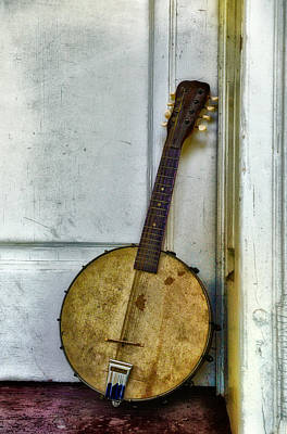 Musical Instrument Photograph - Banjo Mandolin - Folk Music by Bill Cannon