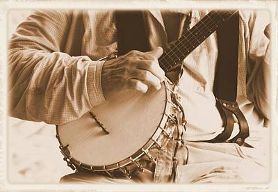 Photograph - Banjo Player 2 by Sheri McLeroy