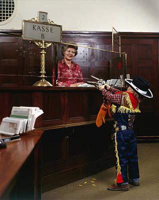 Bank Heist Original by Jan W Faul