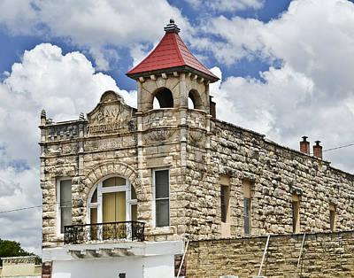 Photograph - Bank Of Fredericksburg by Allen Sheffield