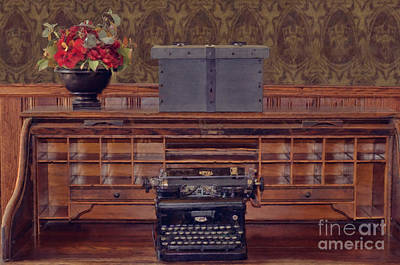 Photograph - Bank - Secretary by Liane Wright