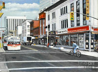 Bank Street Ottawa Art Print