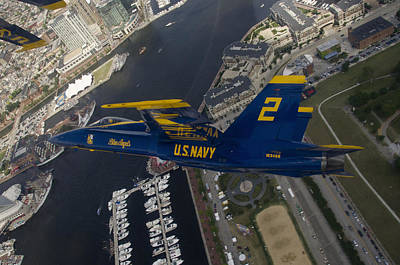 Photograph - Banking Over Baltimore II by Ricky Barnard