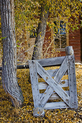 Photograph - Bannack Fence by Sonya Lang