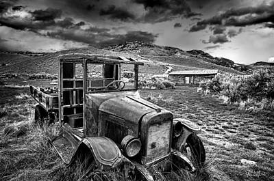 Photograph - Bannack International Black And White by Renee Sullivan