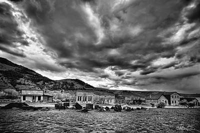 Photograph - Bannack Main Street by Renee Sullivan