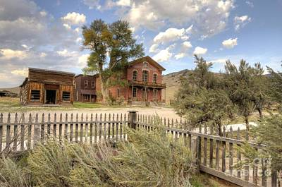 Bannack Ghost Town Photograph - Bannack Montana by Bob Christopher