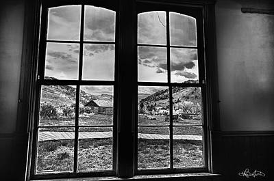 Photograph - Bannack Window by Renee Sullivan