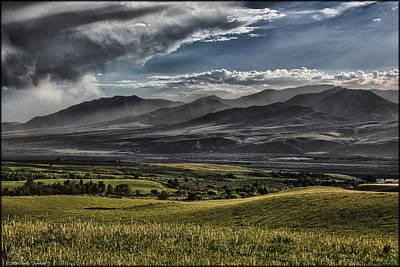 Photograph - Bannock Range by Erika Fawcett