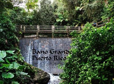 Photograph - Bano Gande by Gary Wonning