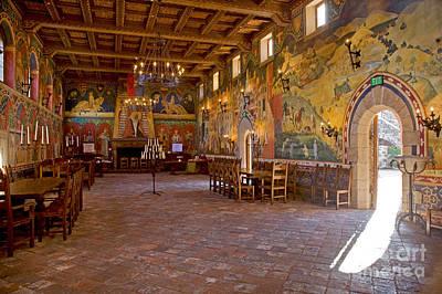 Photograph - Banquet Hall Castello De Amarosa by Craig Lovell