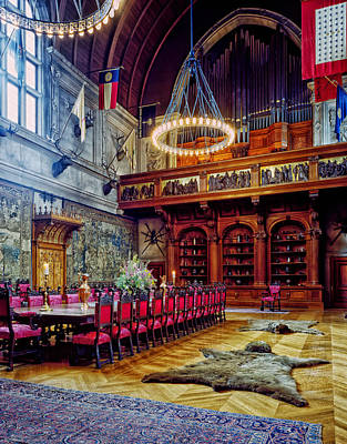 Banquet Hall Of The Biltmore Art Print by Mountain Dreams