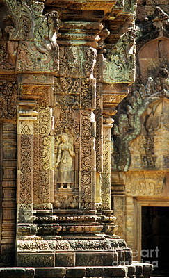 Photograph - Banteay Srei Temple 02 by Rick Piper Photography