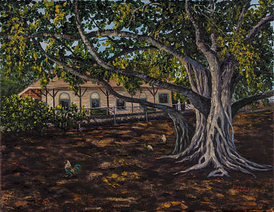 Painting - Banyan Tree by Darice Machel McGuire