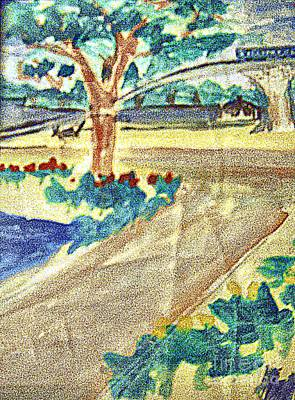 Commerce Mixed Media - Banyan-trees by Ayyappa Das